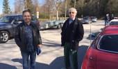 Raymond Persson tillsammans med en medlem