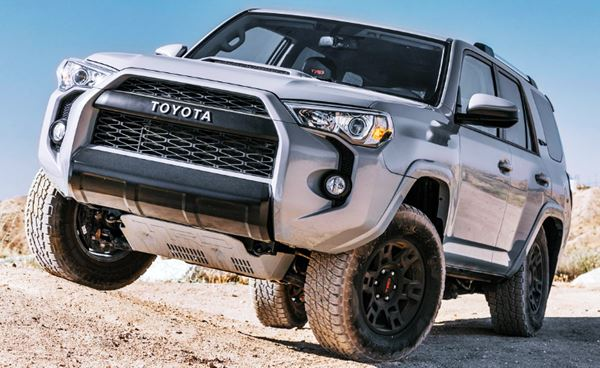 New 2022 Toyota 4Runner Hybrid design