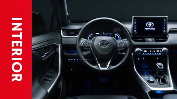 Toyota Rav4 2023 Interior Design