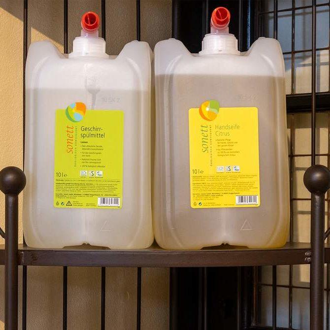 Waschmittel sensitiv (bunt und weiß) Image
