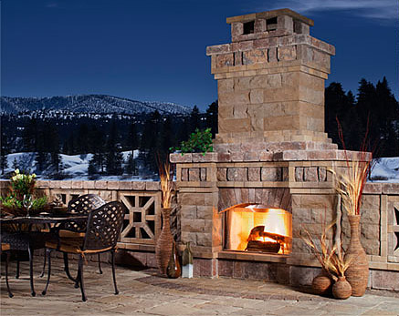 5 Amazing Outdoor Fireplace Designs - Vonderhaar on Amazing Outdoor Fireplaces  id=75295