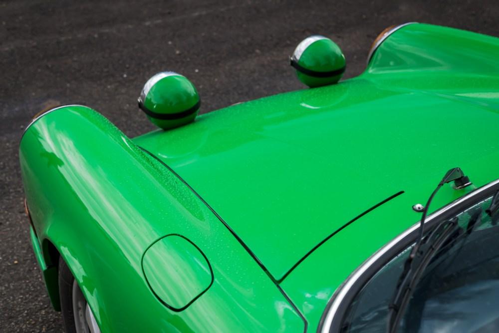 Green Porsche 911T