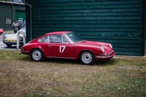Red outlaw Porsche 911