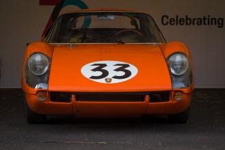 Orange Porsche 904