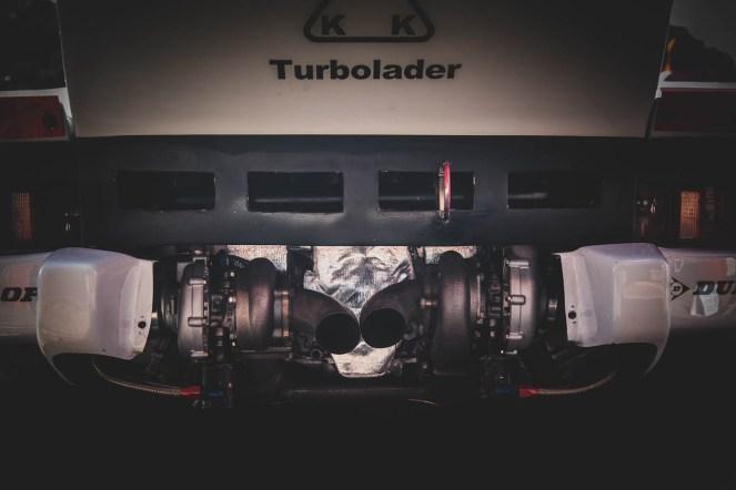 KKK twin turbo Porsche 935