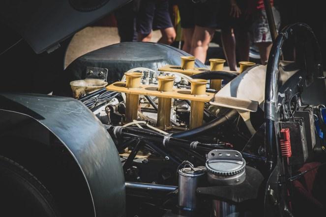 1968 Porsche 910 engine bay