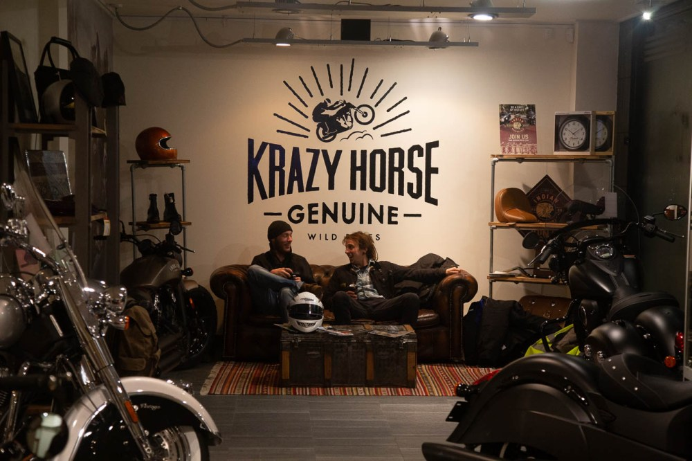 Crazy Horse sofas