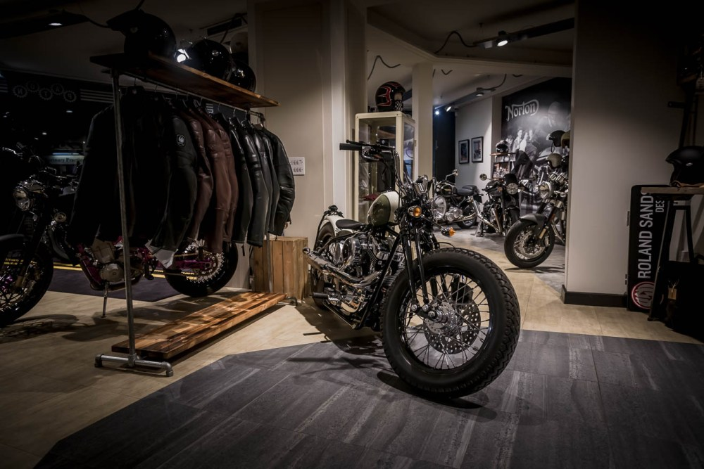 Motorcycles and clothing
