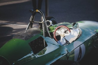 Single seater Lotus Climax 24, Goodwood Revival.