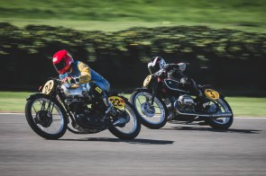 1938 Rudge Special and 1937 BMW R5SS, Goodwood Revival.
