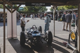 Lotus talk, Goodwood Revival.