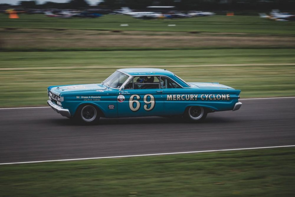 American Mercury Cyclone racing car