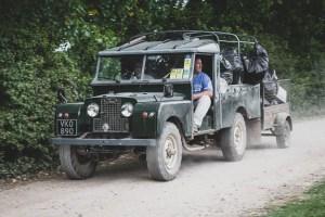 Series 2 Land Rover rubbish truck