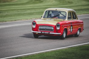 Red and gold Ford 107E