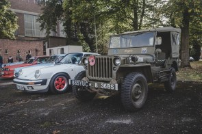 Willys Jeep and Porsche 911