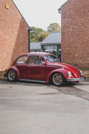 Glorious red Volkswagen Beetle