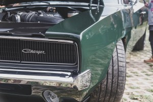 Green Dodge Charger