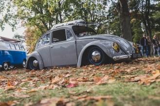 Grey turbo powered VW