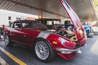 Red V* powered Datsun Z-car