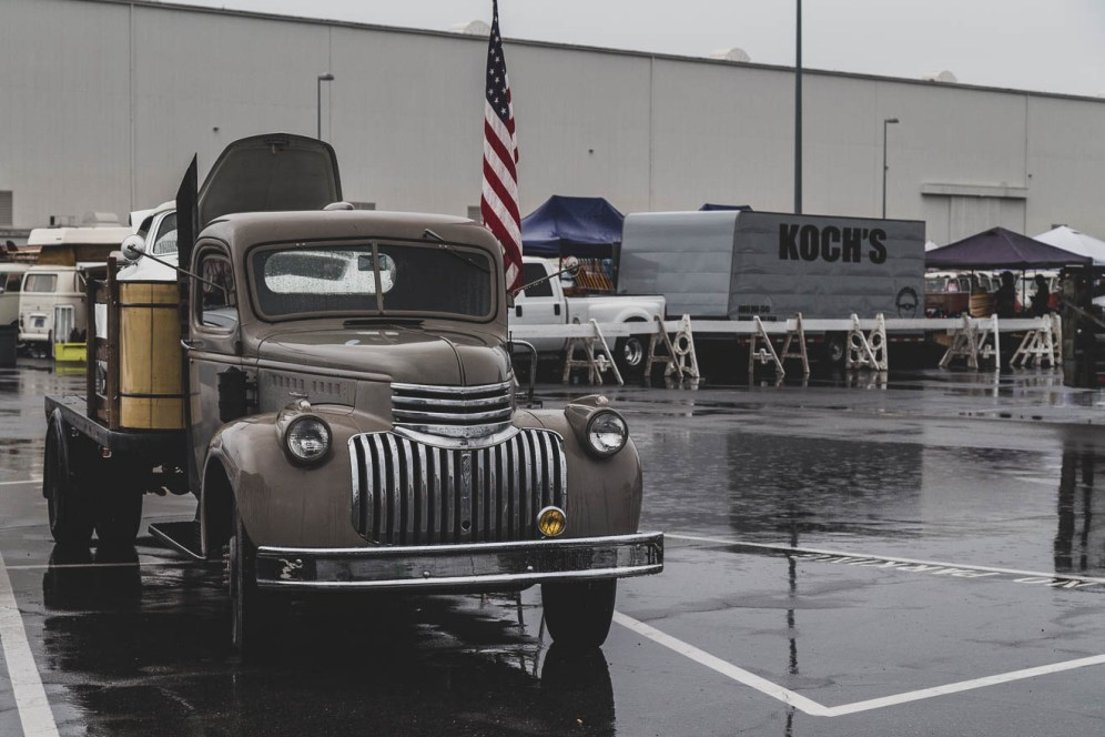 Commercial pick up truck from the 1930's
