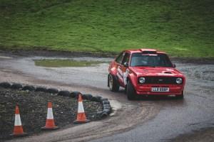 Red Mk2 Ford Escort