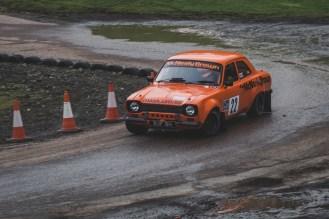 Orange Mk1 Ford Escort