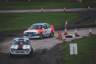 86 BMW M3 catching the Mk1 Ford Escort Mexico