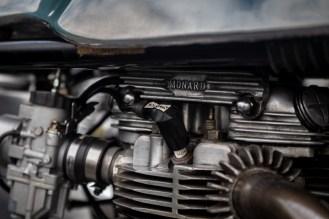 Close up of Triton engine