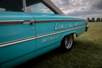 Turquoise American Ford Galaxie