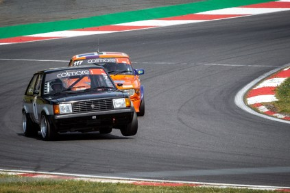 Retro racing cars