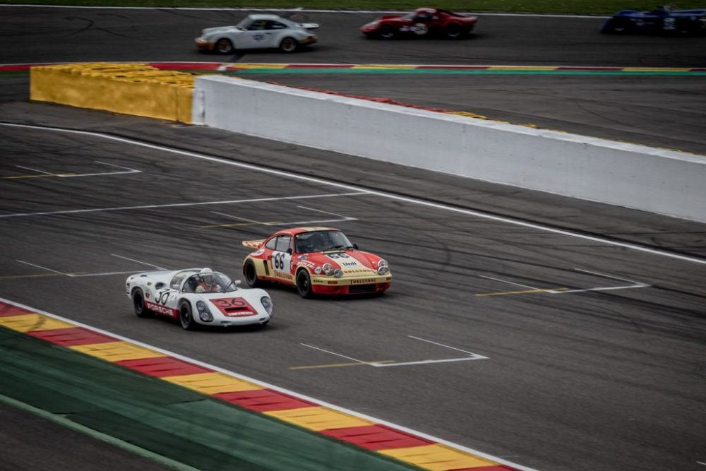 Racing Porsche at Spa Classic 2019
