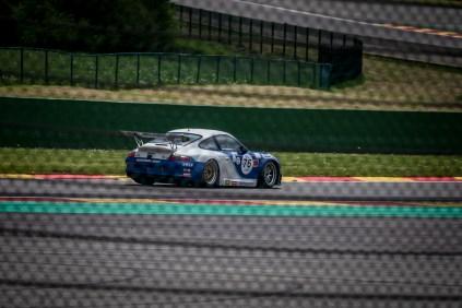 Porsche cup race car