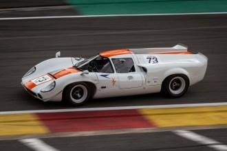 White Lola T70 Mk 3 GT group 4