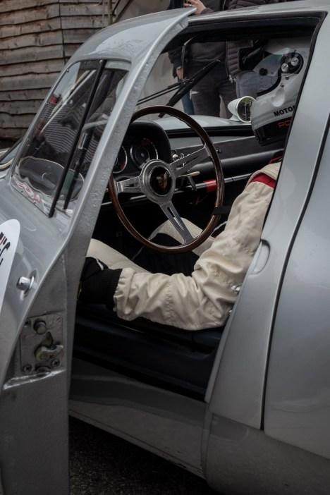 Porsche 904 cockpit
