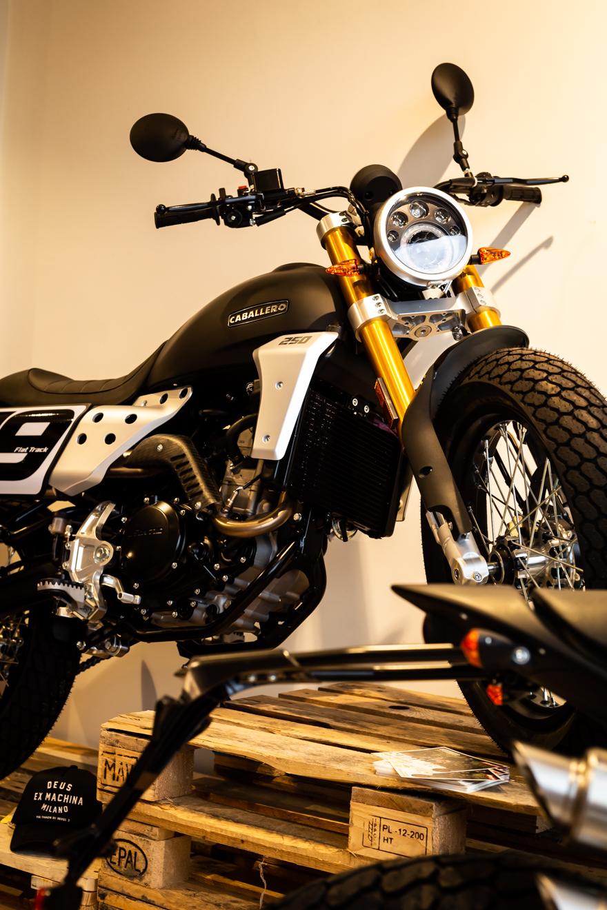 Caballero Flat tracker motorcycle