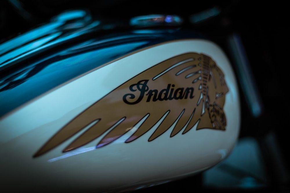 Classic Indian Chief petrol tank