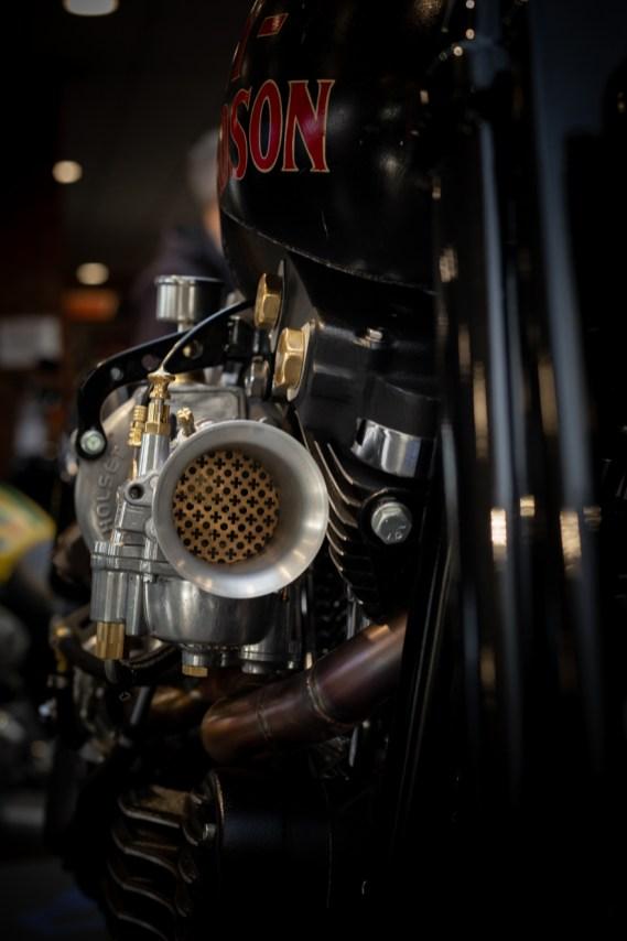 Brass carburetor details