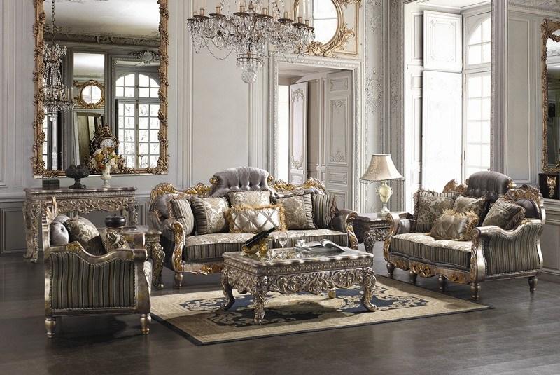 Covina High End Formal Living Room Set