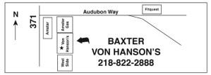 Baxter Processing Plant