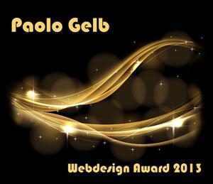 PAOLO GELB WEBDESIGNAWARD 2013