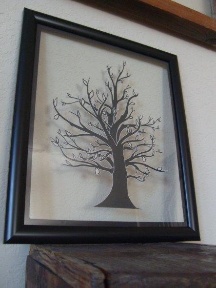 papercraft tree