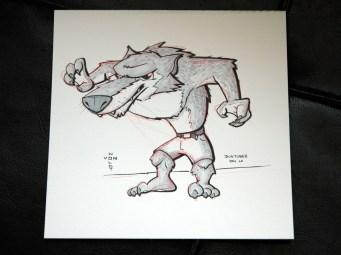 jort-wearing werewolf