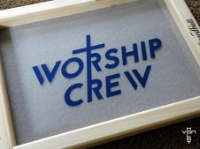 worship crew - fitting positive