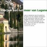 Voorjaar aan het meer van Lugano