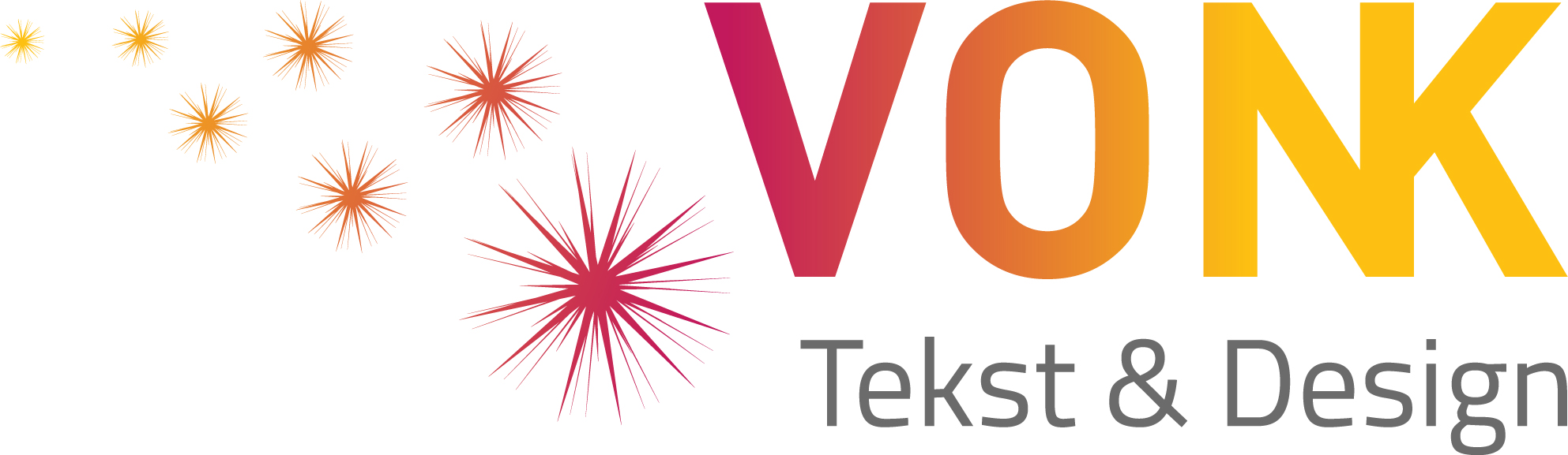 Vonk Tekst & Design logo