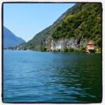 italië; meer van lugano; porlezza; vakantie
