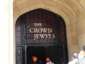Eingang zu den Kronjuwelen