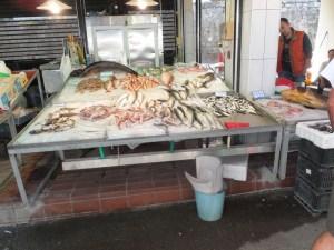 frischer Fisch Kerkira