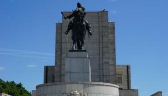 Jan-Žižka-Denkmal – eine Reiterstatue