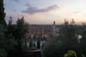Abendstimmung Verona